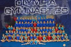 Olympia Gymnastics Team Photo 2018-2019