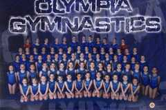 Olympia Gymnastics Team Photo 2020